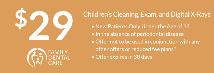 $29 Children's Cleaning, Exam, and Digital X-Rays